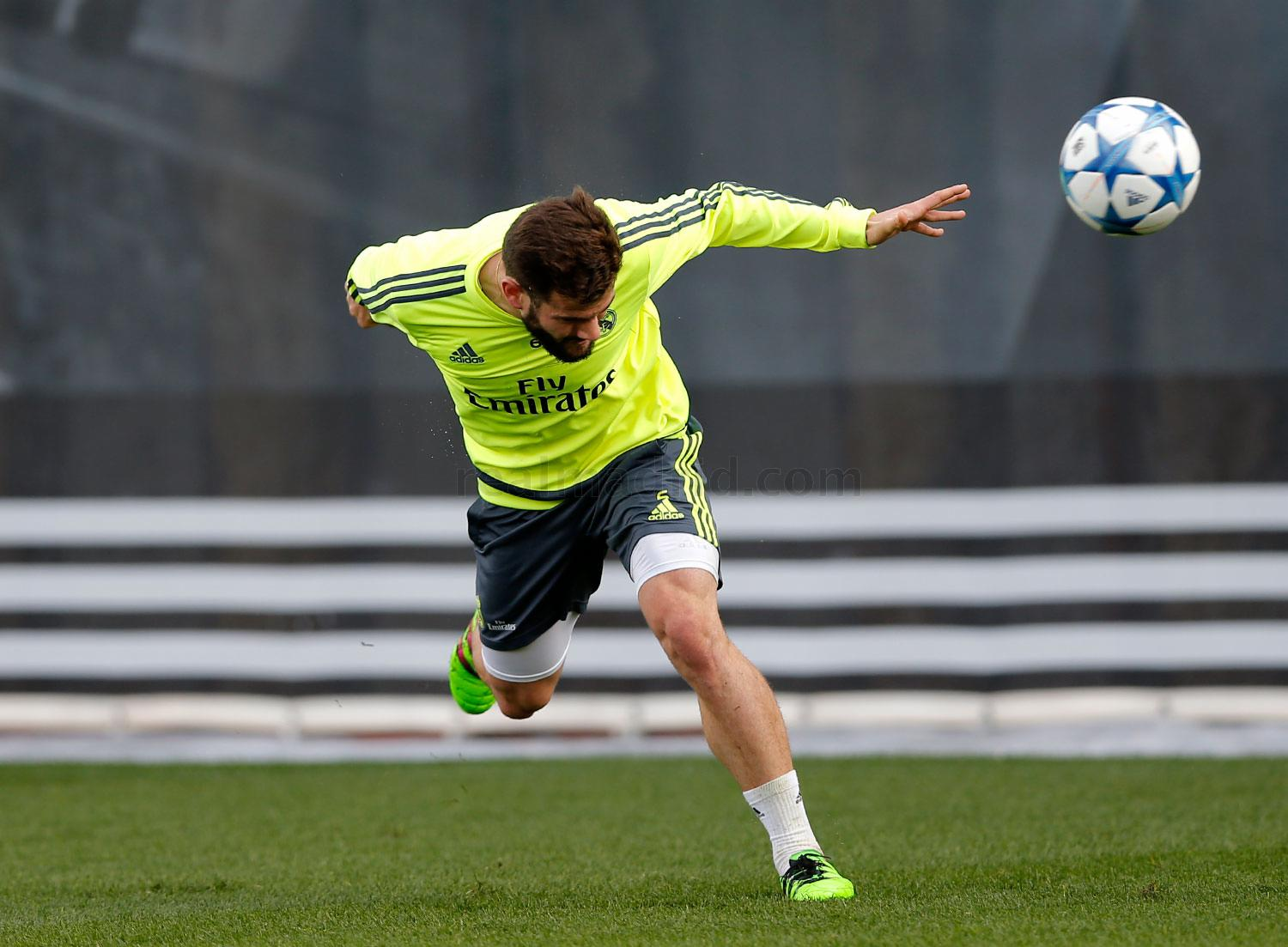 Real Madrid - Entrenamiento del Real Madrid - 14-02-2016
