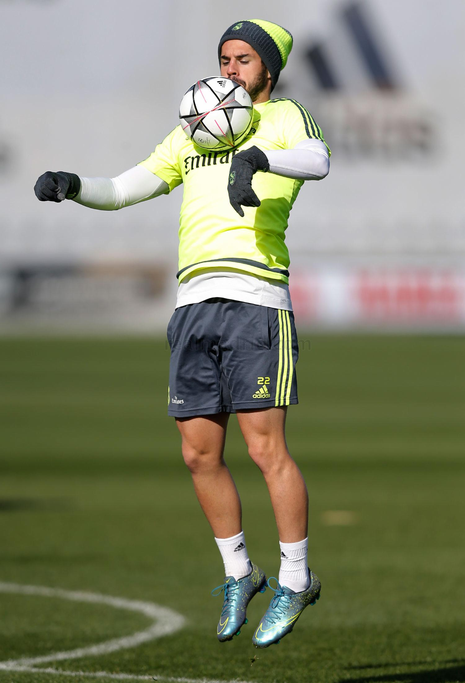 Real Madrid - Entrenamiento del Real Madrid - 15-02-2016