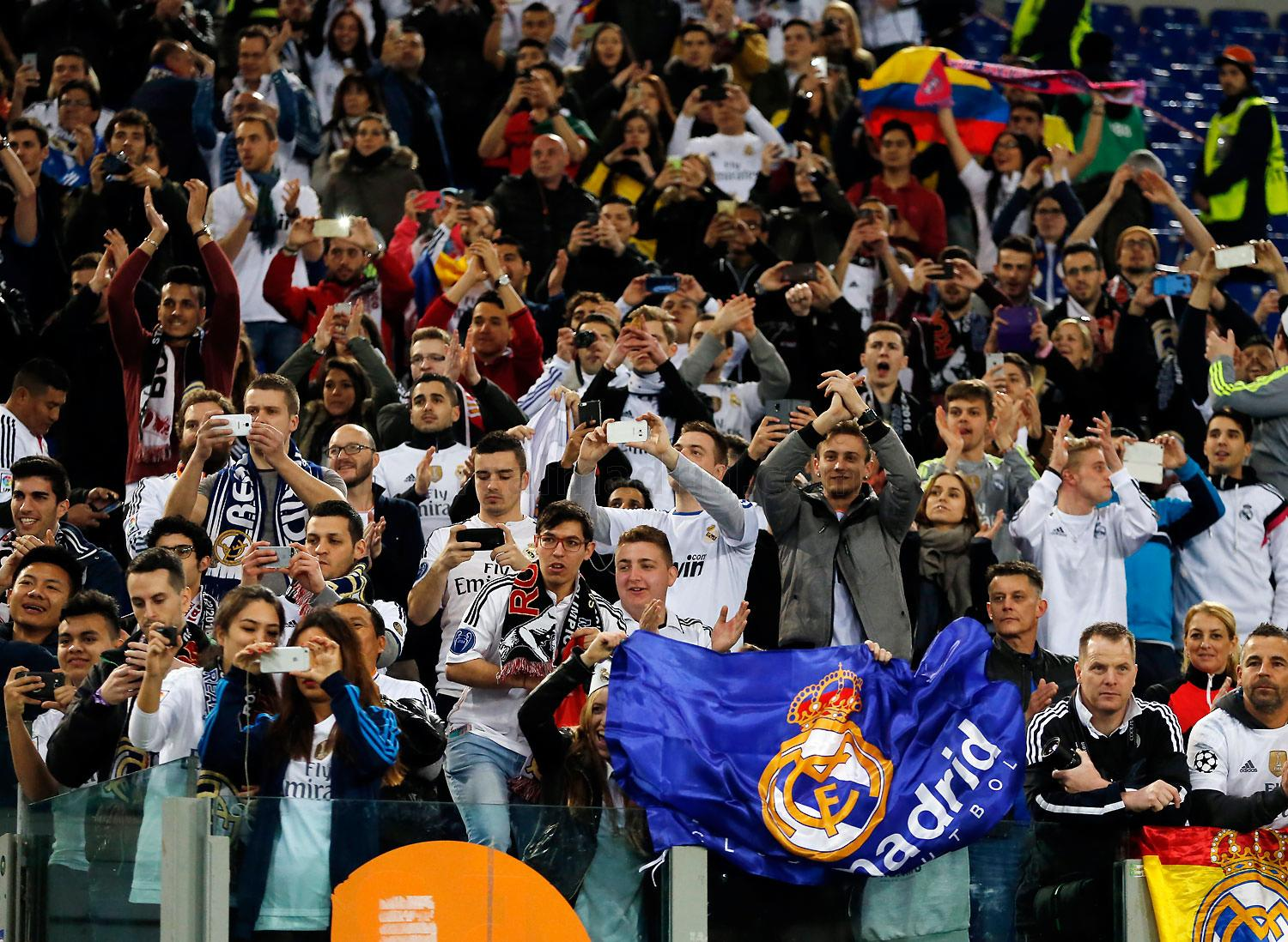 Real Madrid - Roma - Real Madrid - 17-02-2016