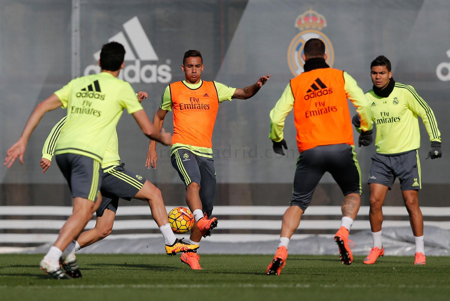 Real Madrid - Entrenamiento del Real Madrid - 18-02-2016