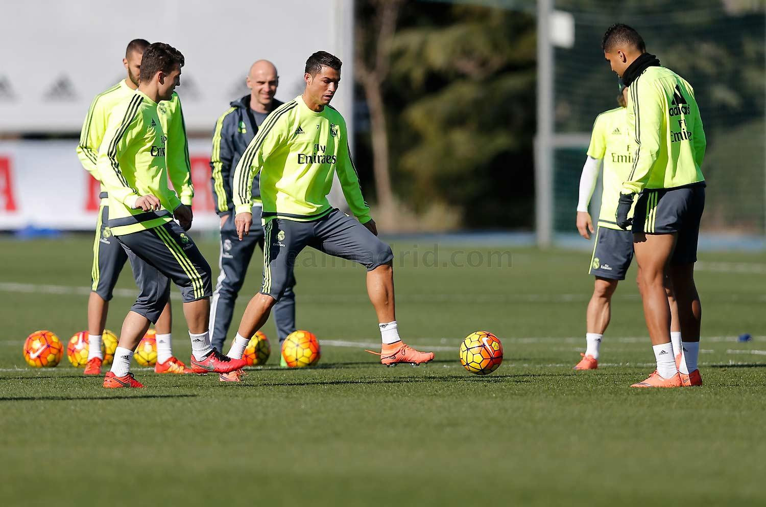 Real Madrid - Entrenamiento del Real Madrid - 19-02-2016