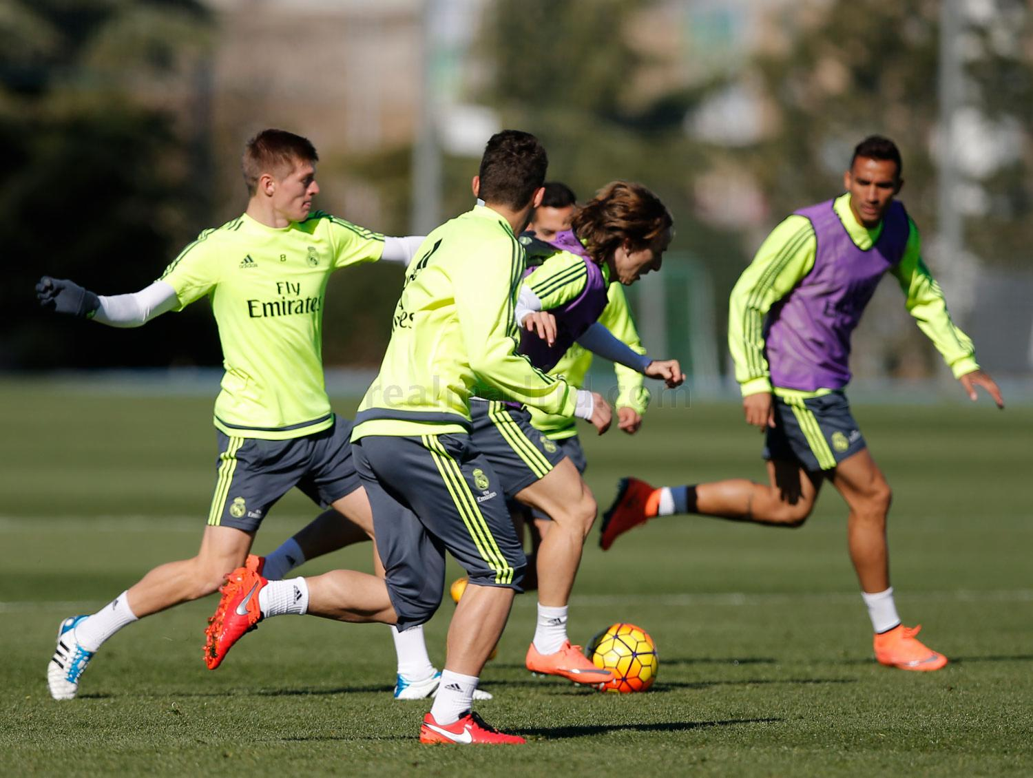 Real Madrid - Entrenamiento del Real Madrid - 20-02-2016