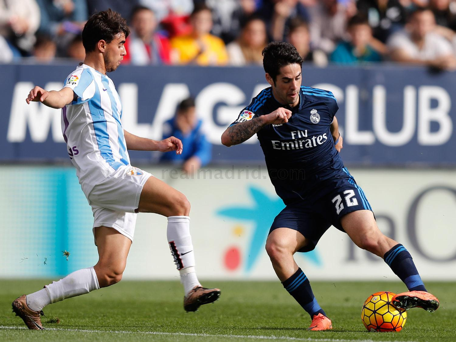 Real Madrid - Málaga - Real Madrid - 21-02-2016