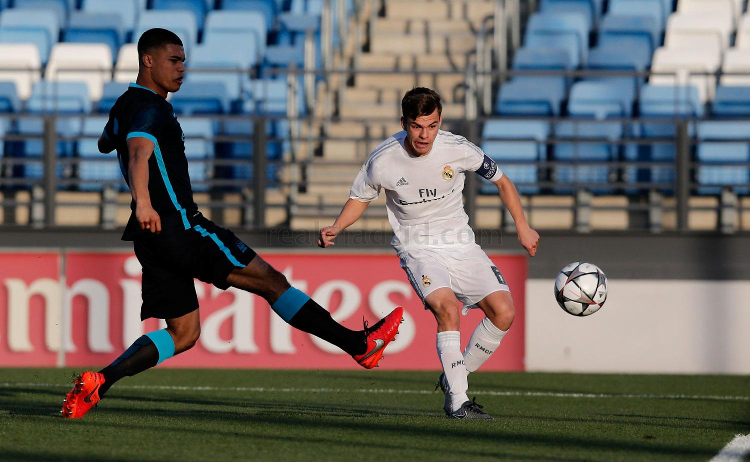 Real Madrid - Juvenil A - Manchester City - 23-02-2016