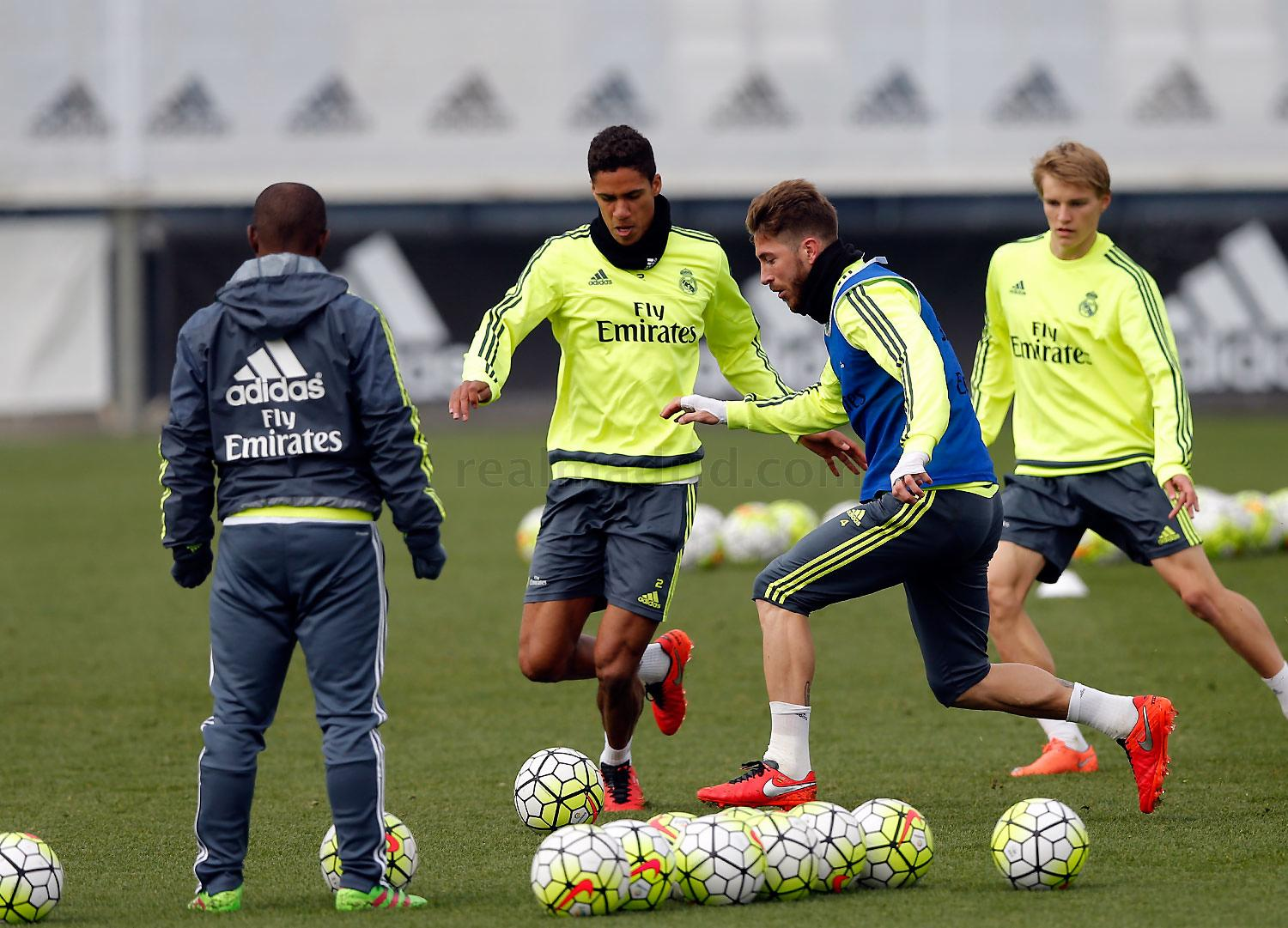 Real Madrid - Entrenamiento del Real Madrid - 24-02-2016