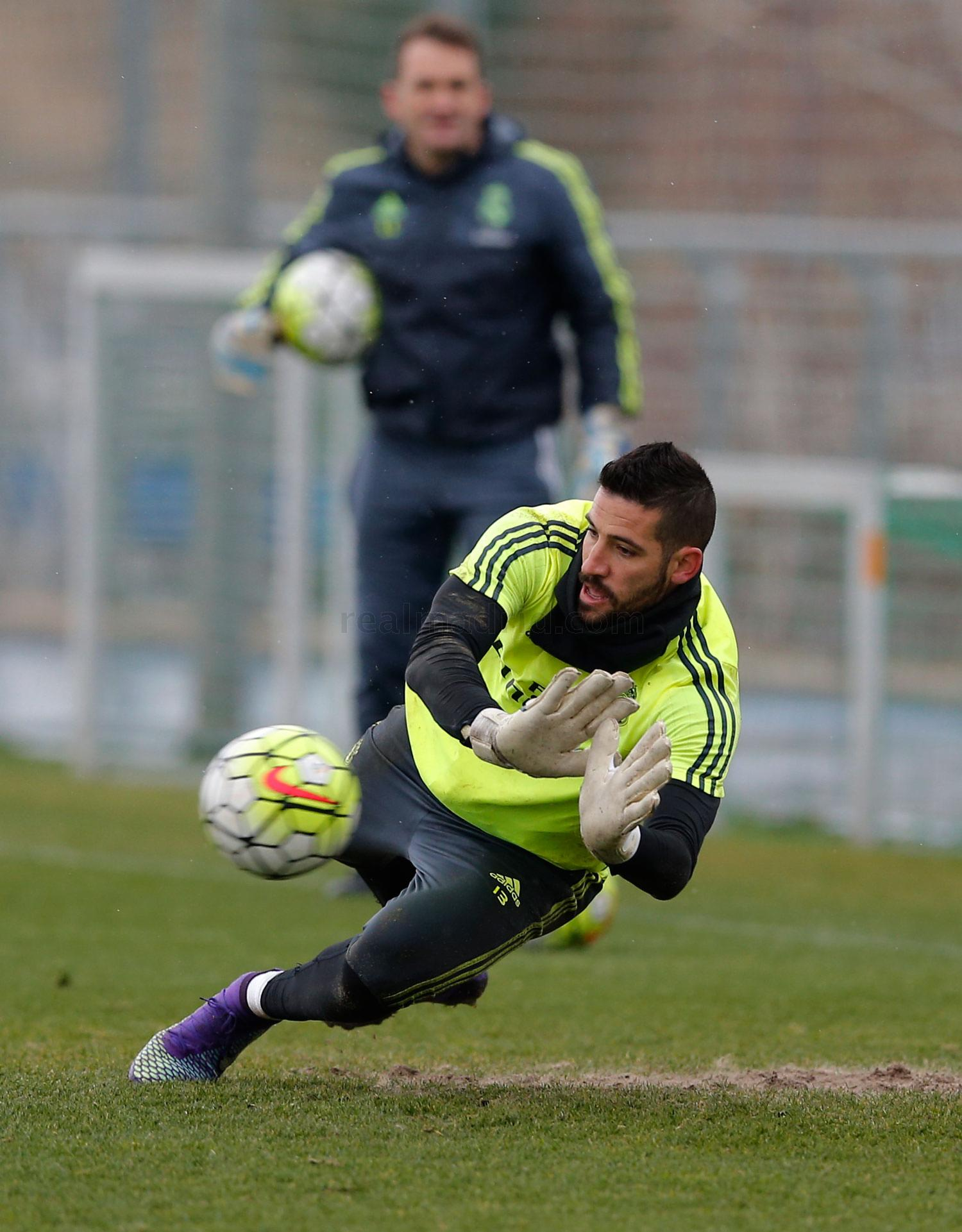 Real Madrid - Entrenamiento del Real Madrid - 26-02-2016