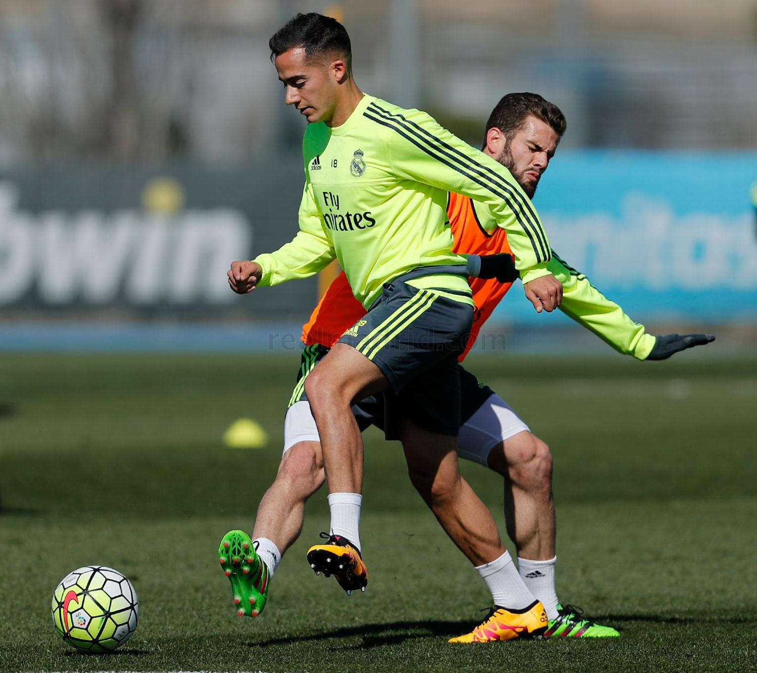 Real Madrid - Entrenamiento del Real Madrid - 29-02-2016