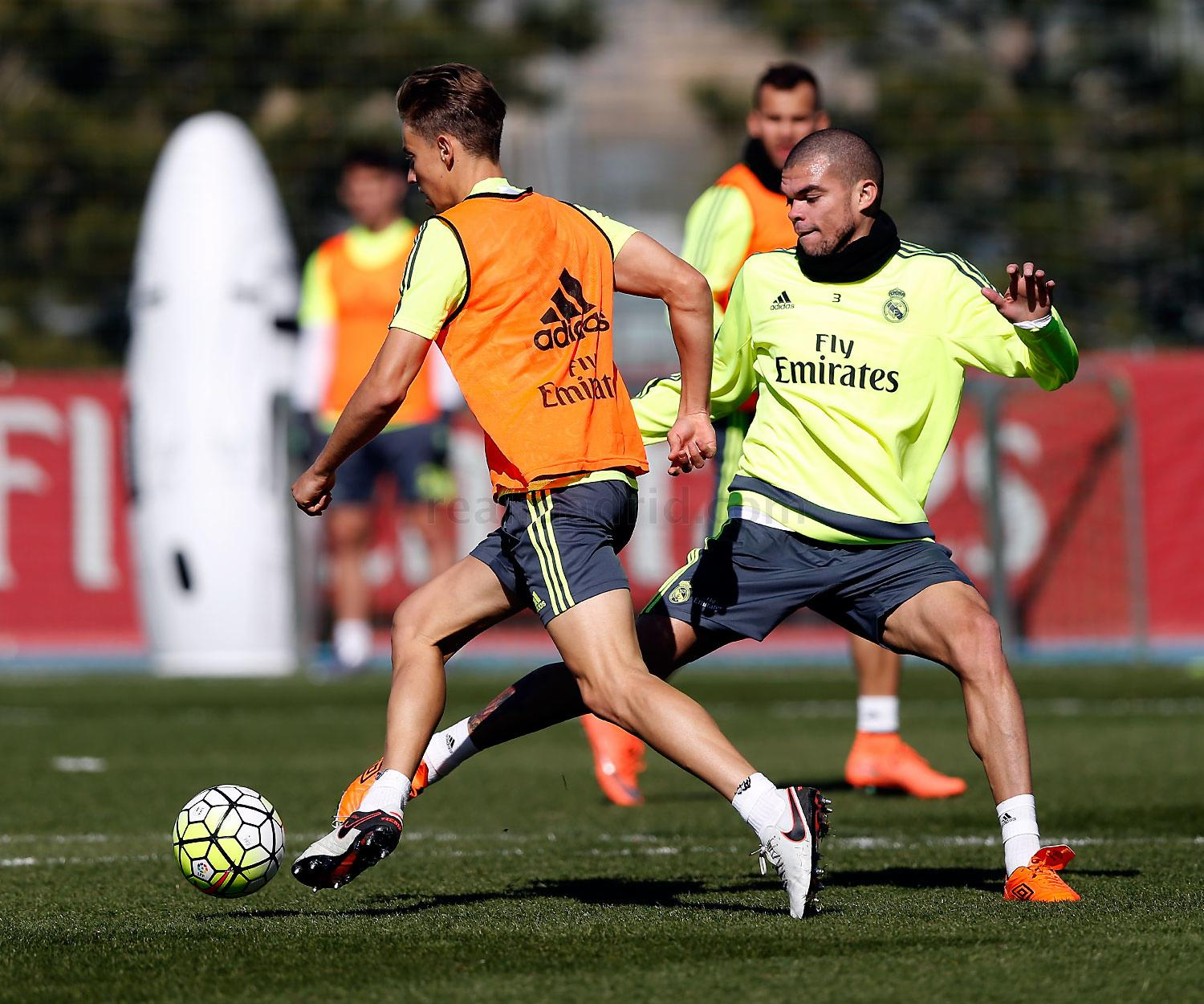 Real Madrid - Entrenamiento del Real Madrid - 01-03-2016
