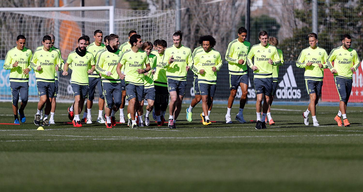 Real Madrid - Entrenamiento del Real Madrid - 03-03-2016