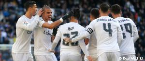 7-1: Real Madrid hand out thrashing with four goals Cristiano Ronaldo