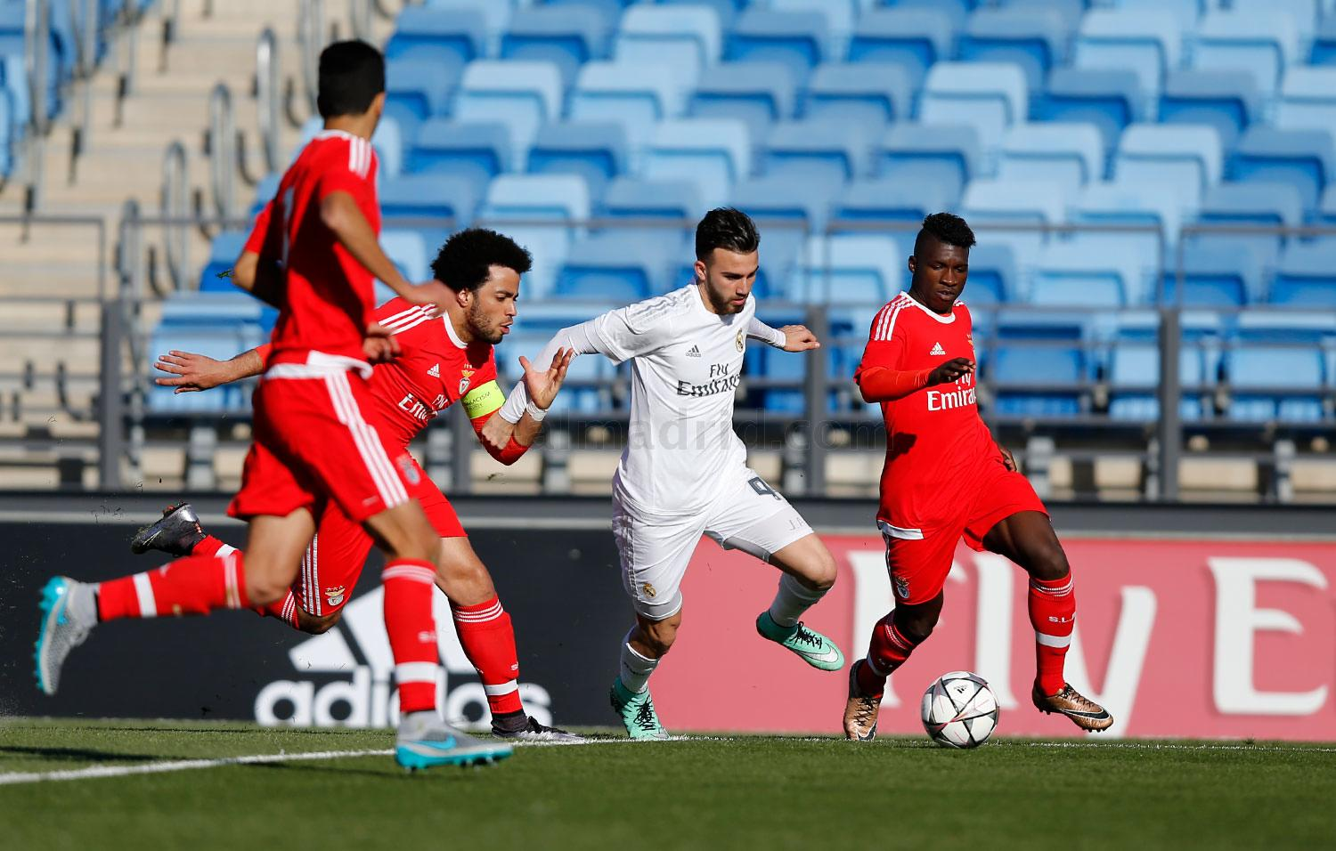 Real Madrid - Juvenil A - Benfica - 08-03-2016