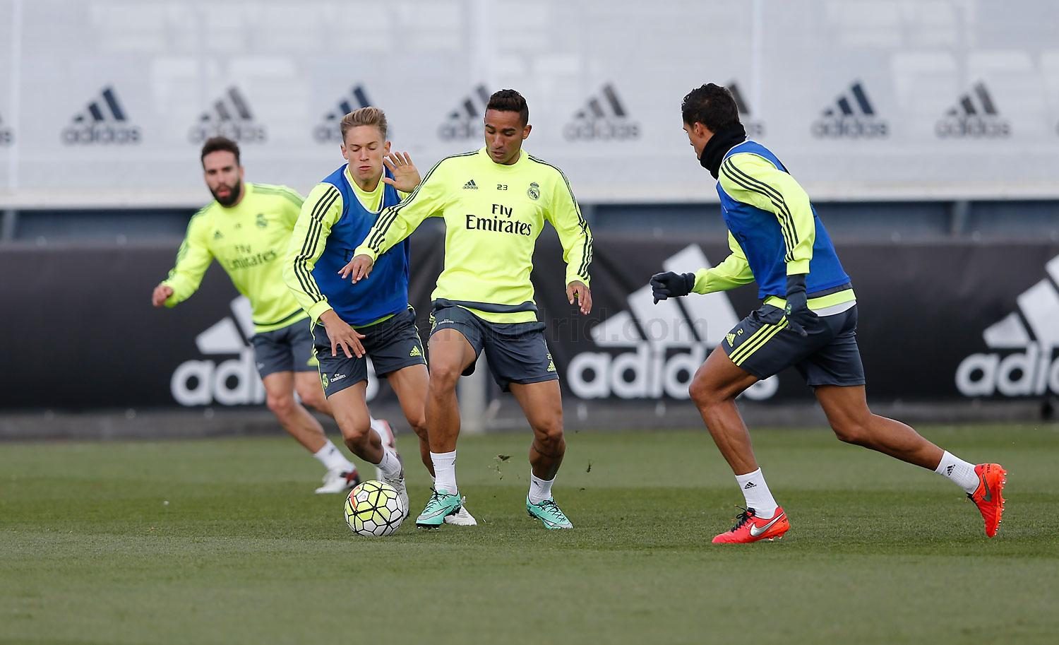 Real Madrid - Entrenamiento del Real Madrid - 10-03-2016