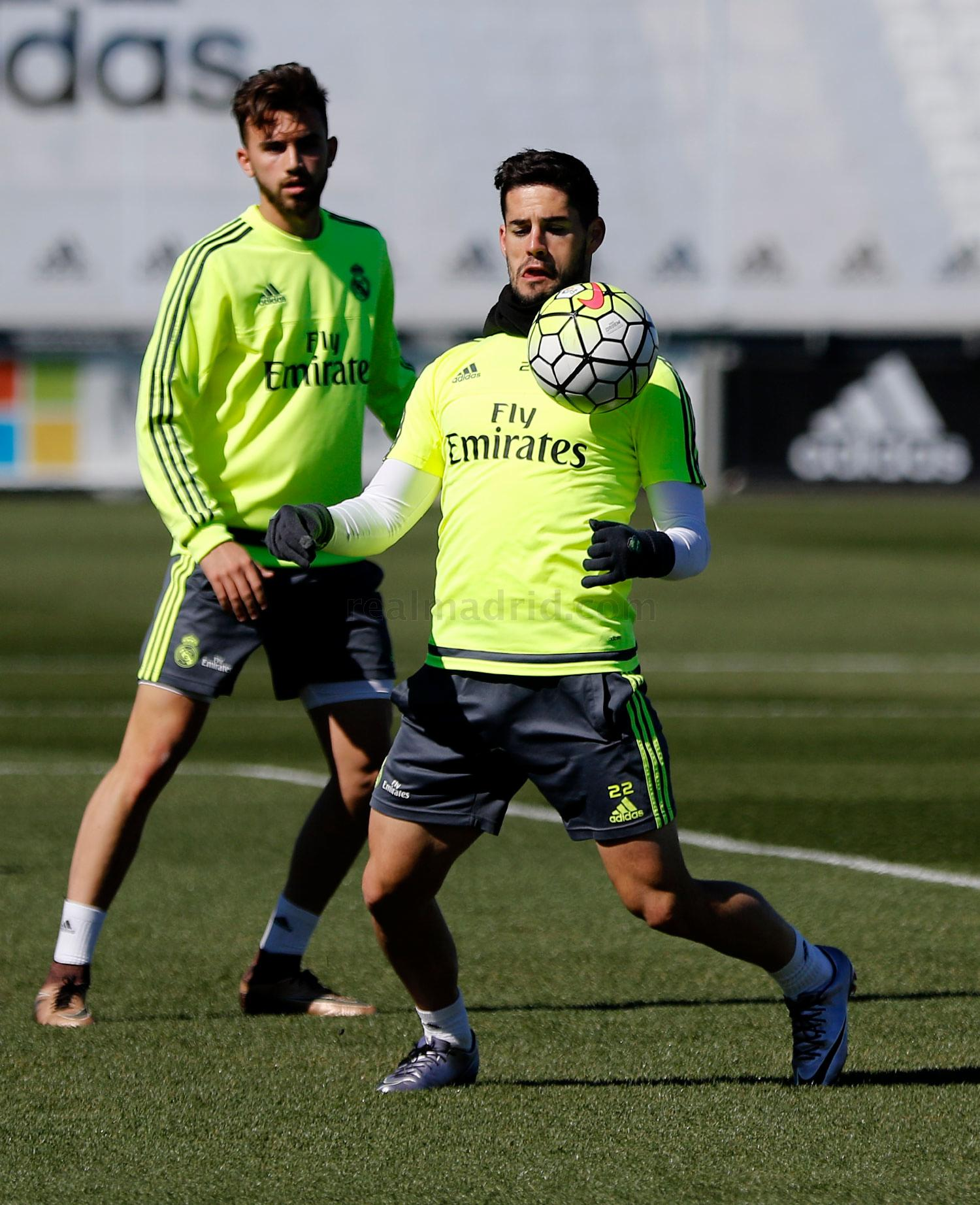 Real Madrid - Entrenamiento del Real Madrid - 11-03-2016
