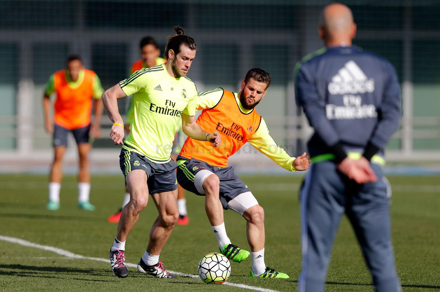 Real Madrid - Entrenamiento del Real Madrid - 12-03-2016
