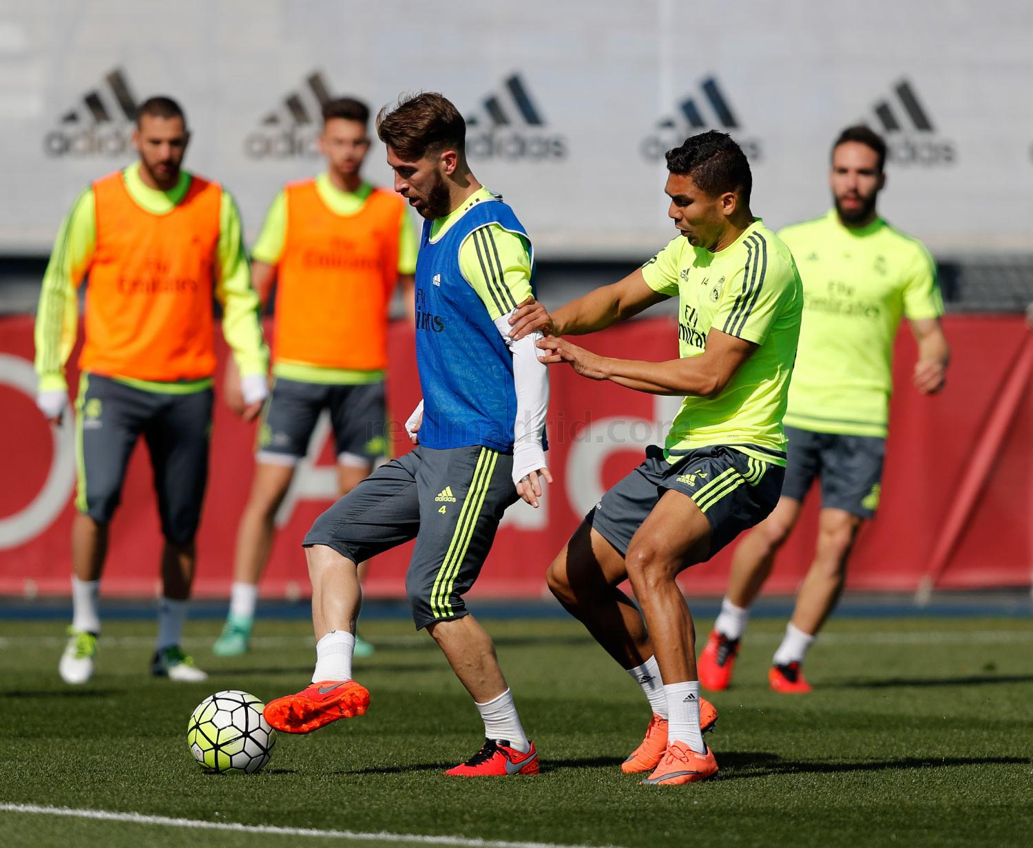 Real Madrid - Entrenamiento del Real Madrid - 17-03-2016