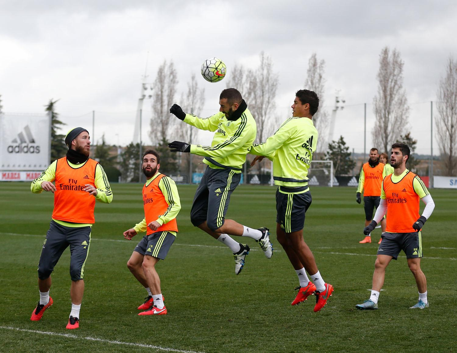 Real Madrid - Entrenamiento del Real Madrid - 19-03-2016
