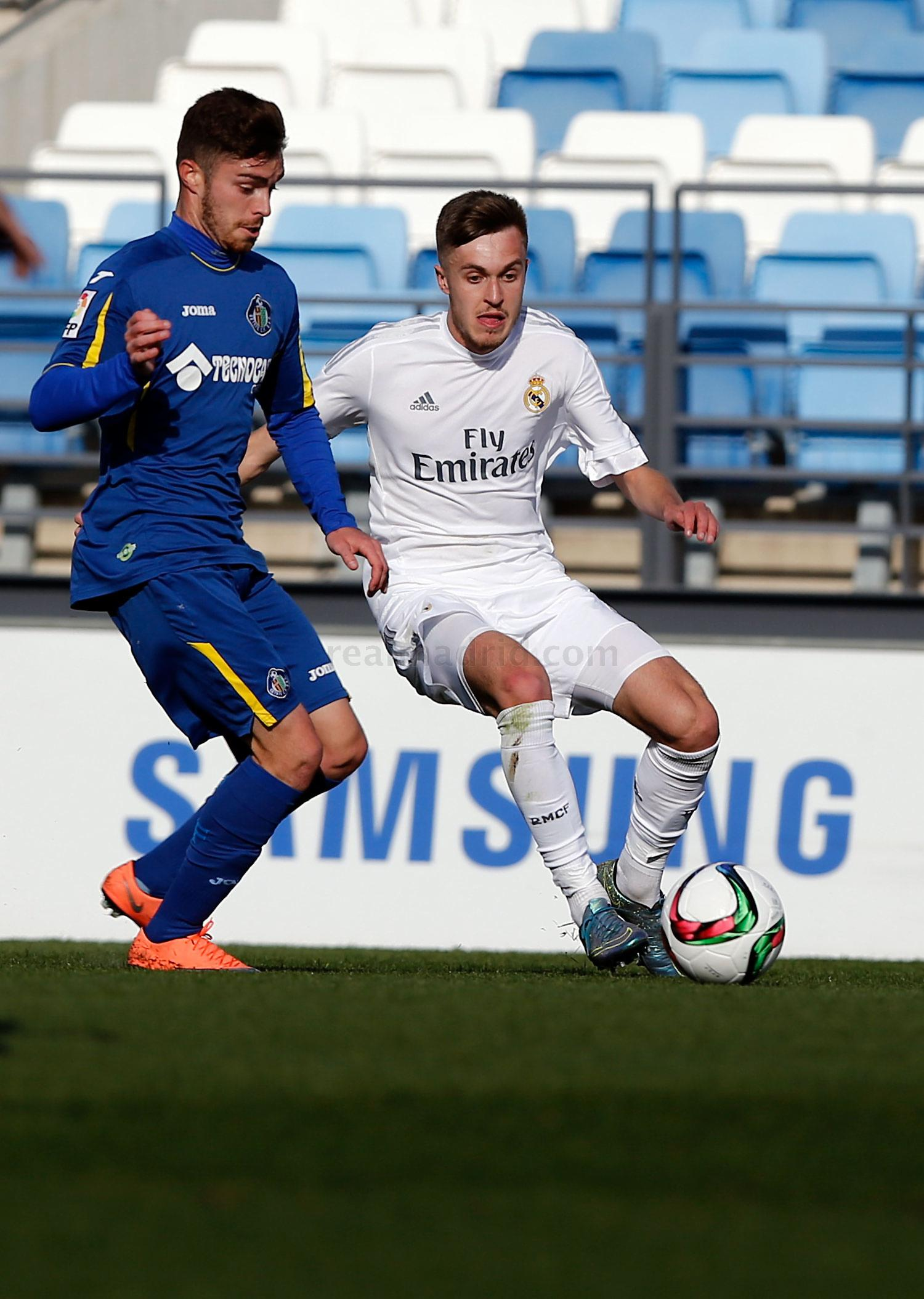 Real Madrid - Real Madrid Castilla - Getafe B - 19-03-2016