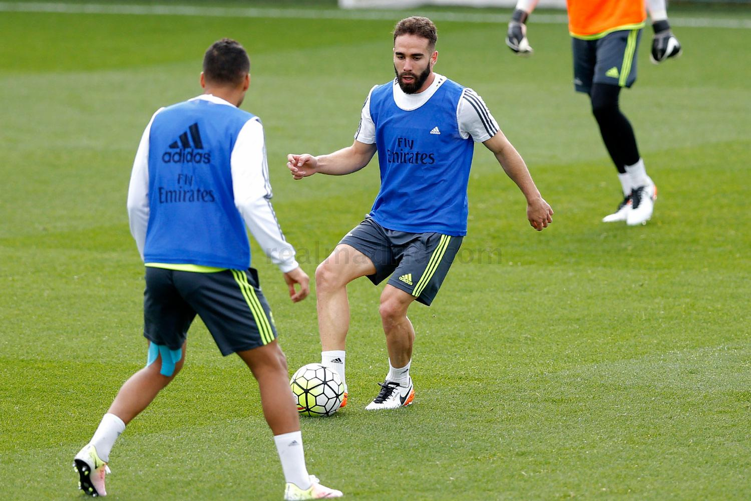Real Madrid - Entrenamiento del Real Madrid - 22-03-2016