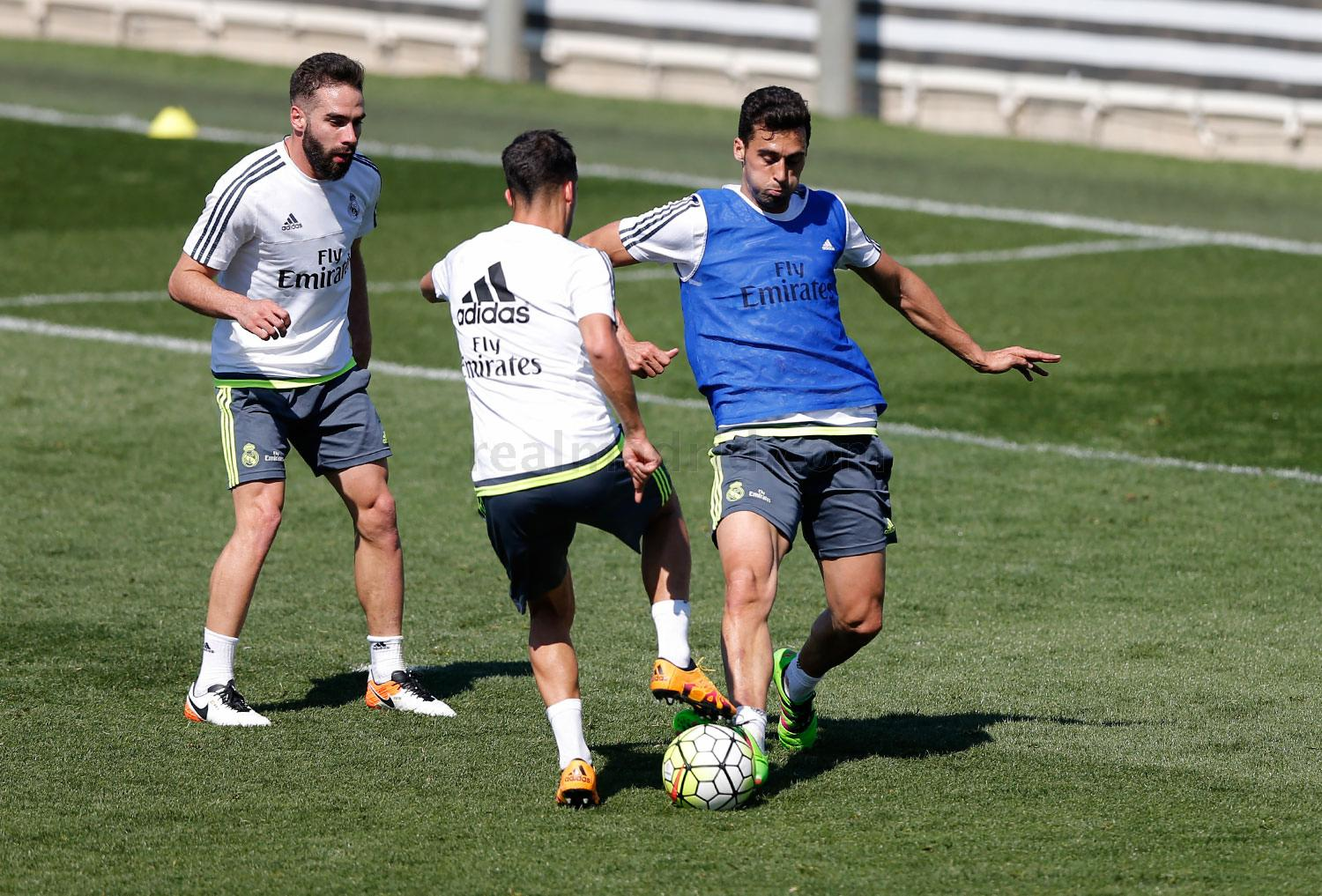 Real Madrid - Entrenamiento del Real Madrid - 23-03-2016
