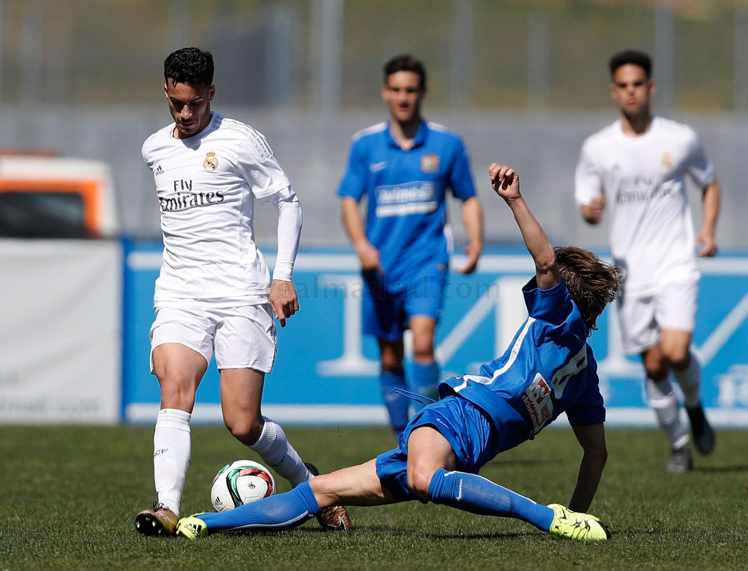 Real Madrid - Fuenlabrada - Real Madrid Castilla  - 24-03-2016