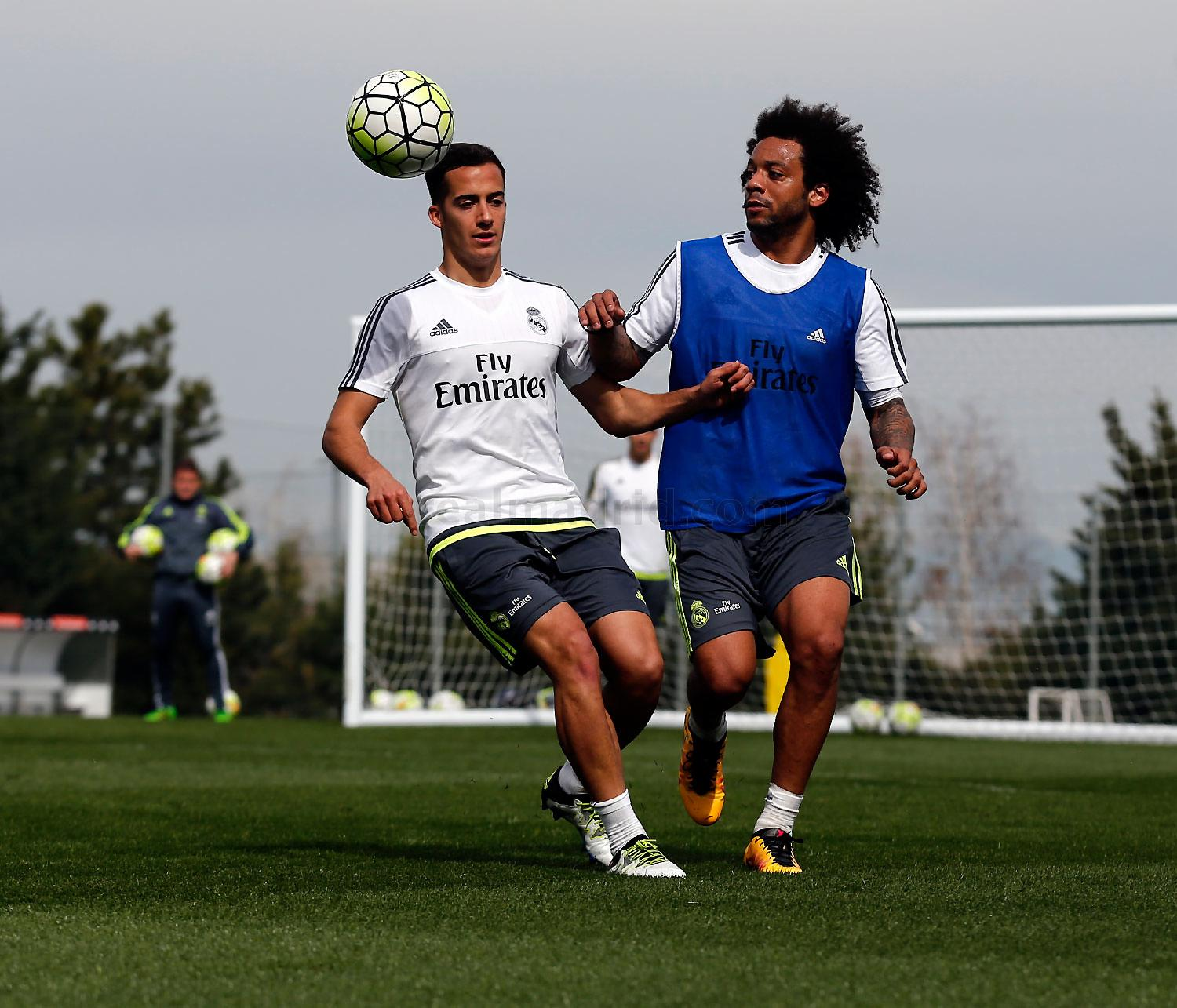 Real Madrid - Entrenamiento del Real Madrid - 25-03-2016
