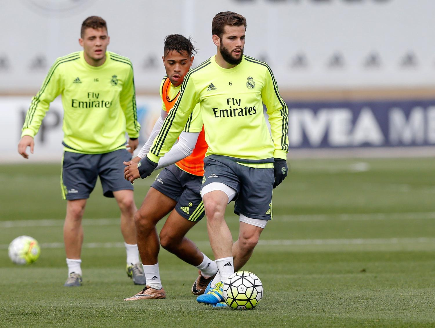 Real Madrid - Entrenamiento del Real Madrid - 29-03-2016
