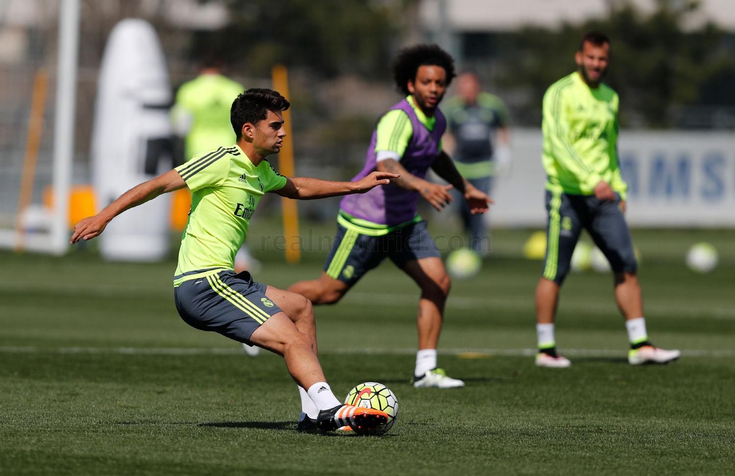 Real Madrid - Entrenamiento del Real Madrid - 30-03-2016