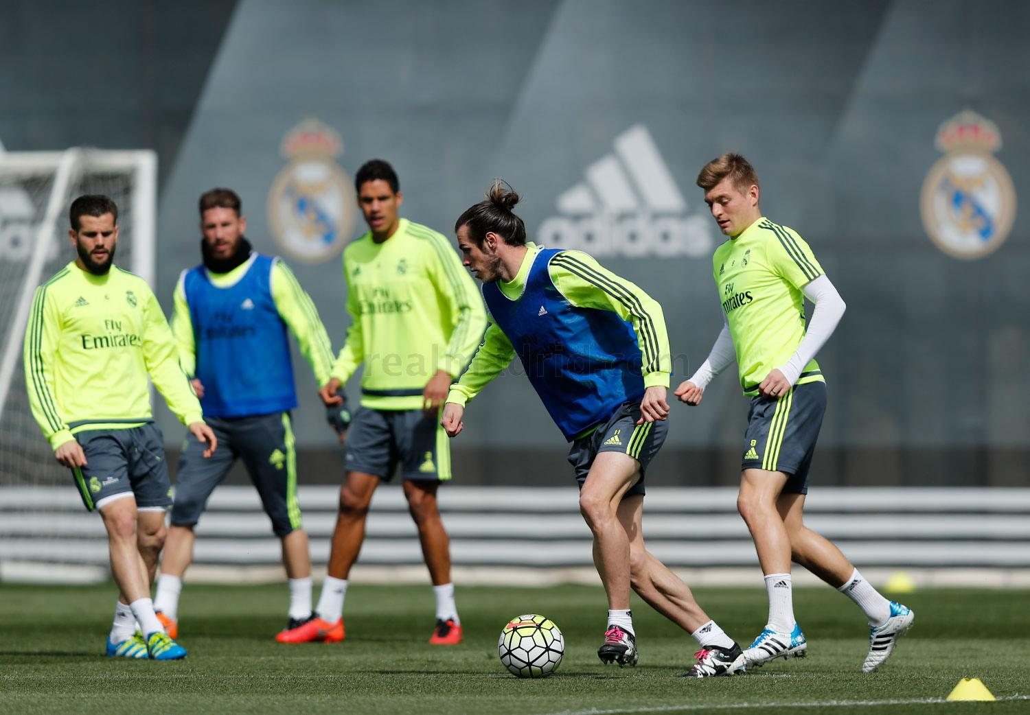 Real Madrid - Entrenamiento del Real Madrid - 31-03-2016