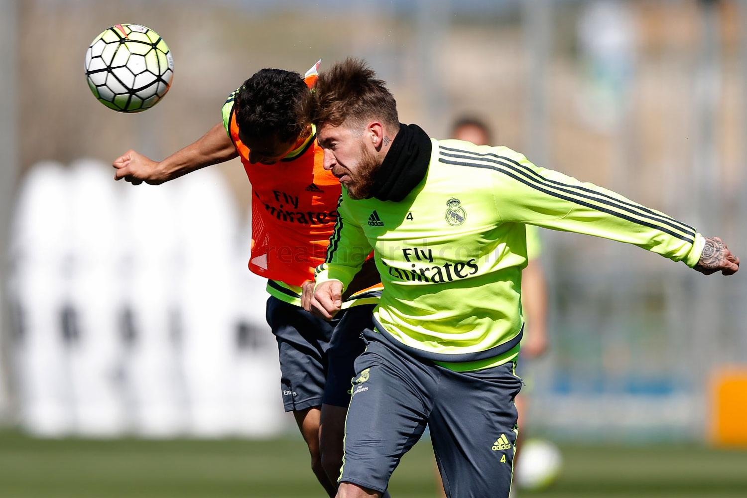 Real Madrid - Entrenamiento del Real Madrid - 01-04-2016