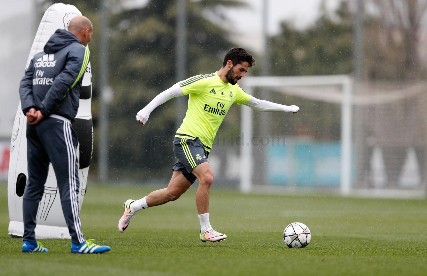Real Madrid - Entrenamiento del Real Madrid - 03-04-2016