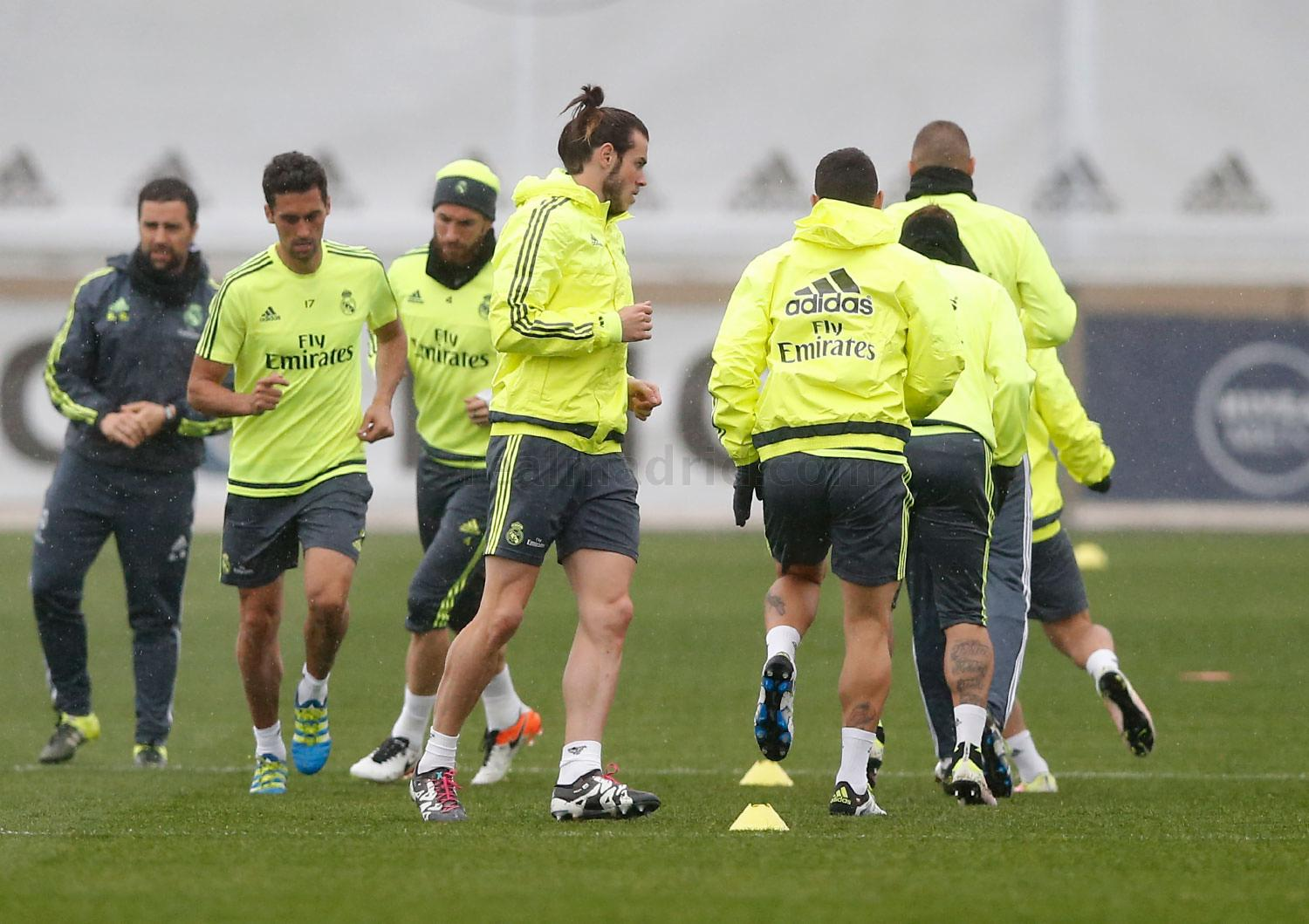 Real Madrid - Entrenamiento del Real Madrid - 04-04-2016