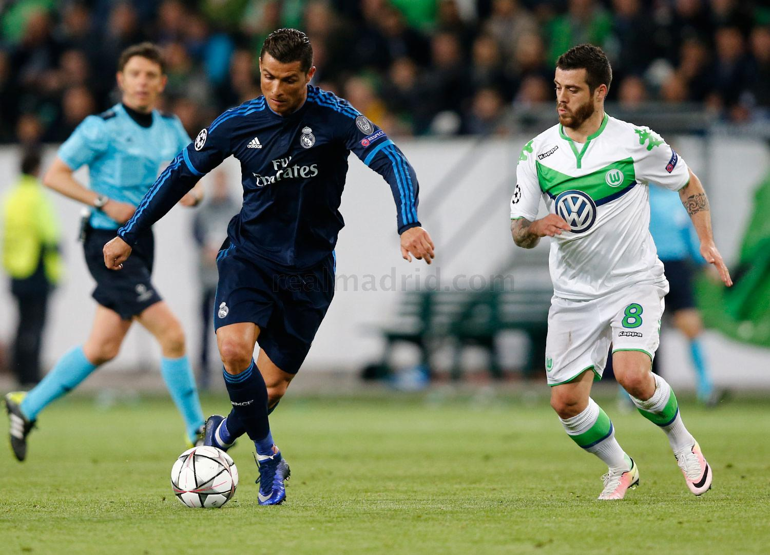 Real Madrid - Wolfsburgo - Real Madrid - 06-04-2016