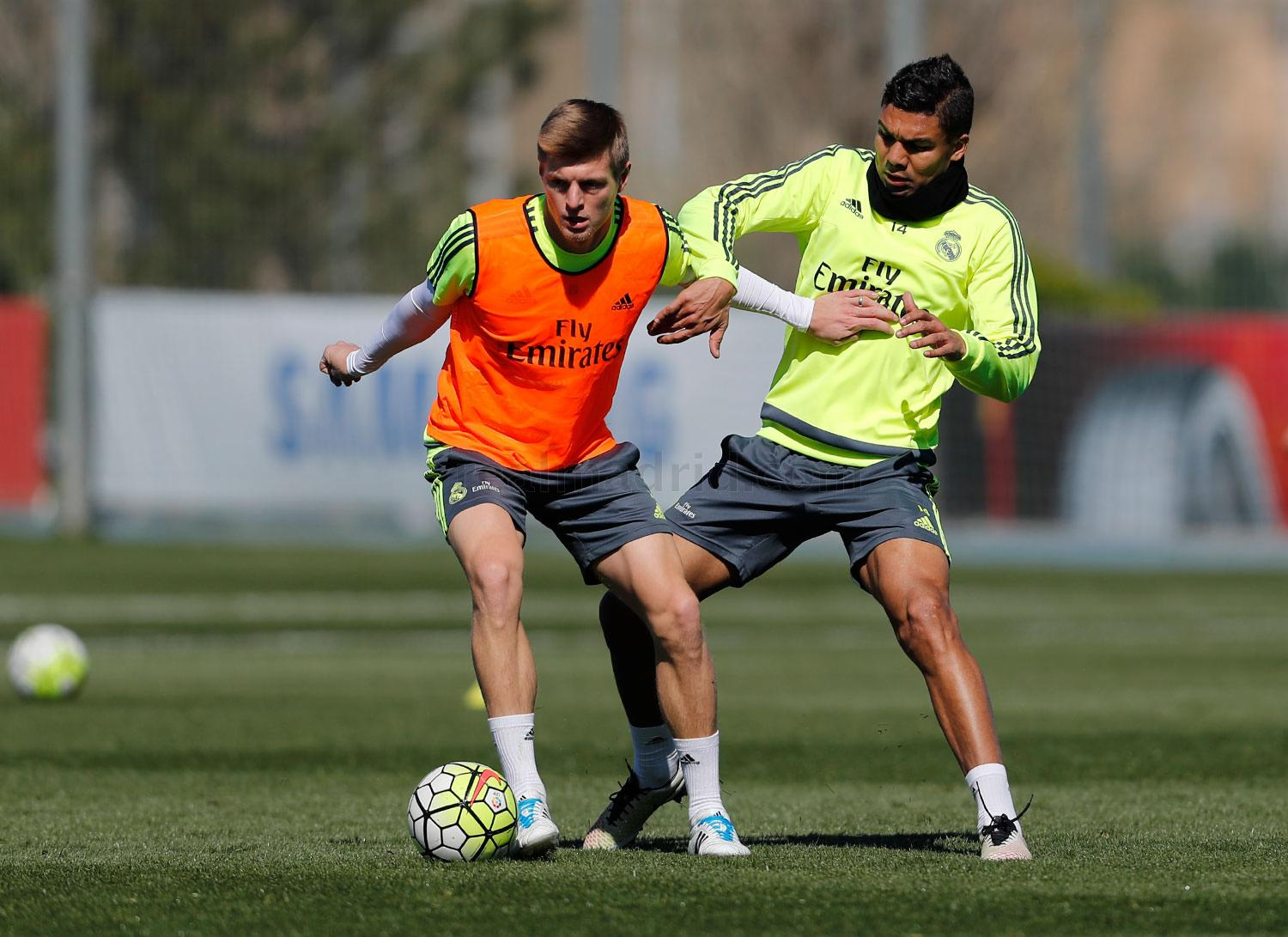 Real Madrid - Entrenamiento del Real Madrid - 08-04-2016