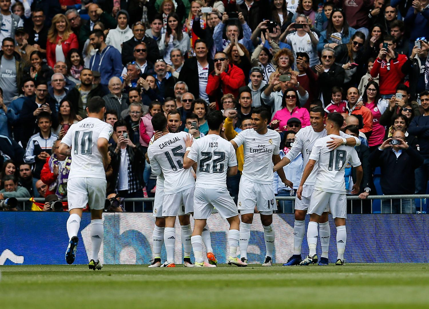 Real Madrid - Real Madrid - Eibar - 09-04-2016
