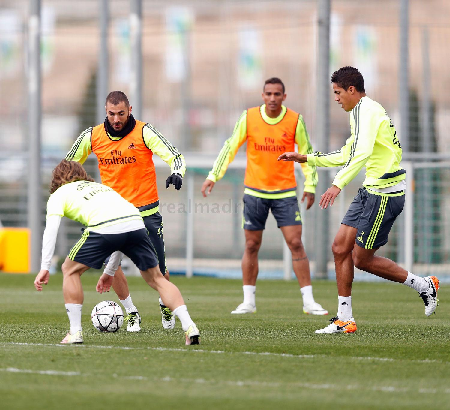 Real Madrid - Entrenamiento del Real Madrid - 10-04-2016