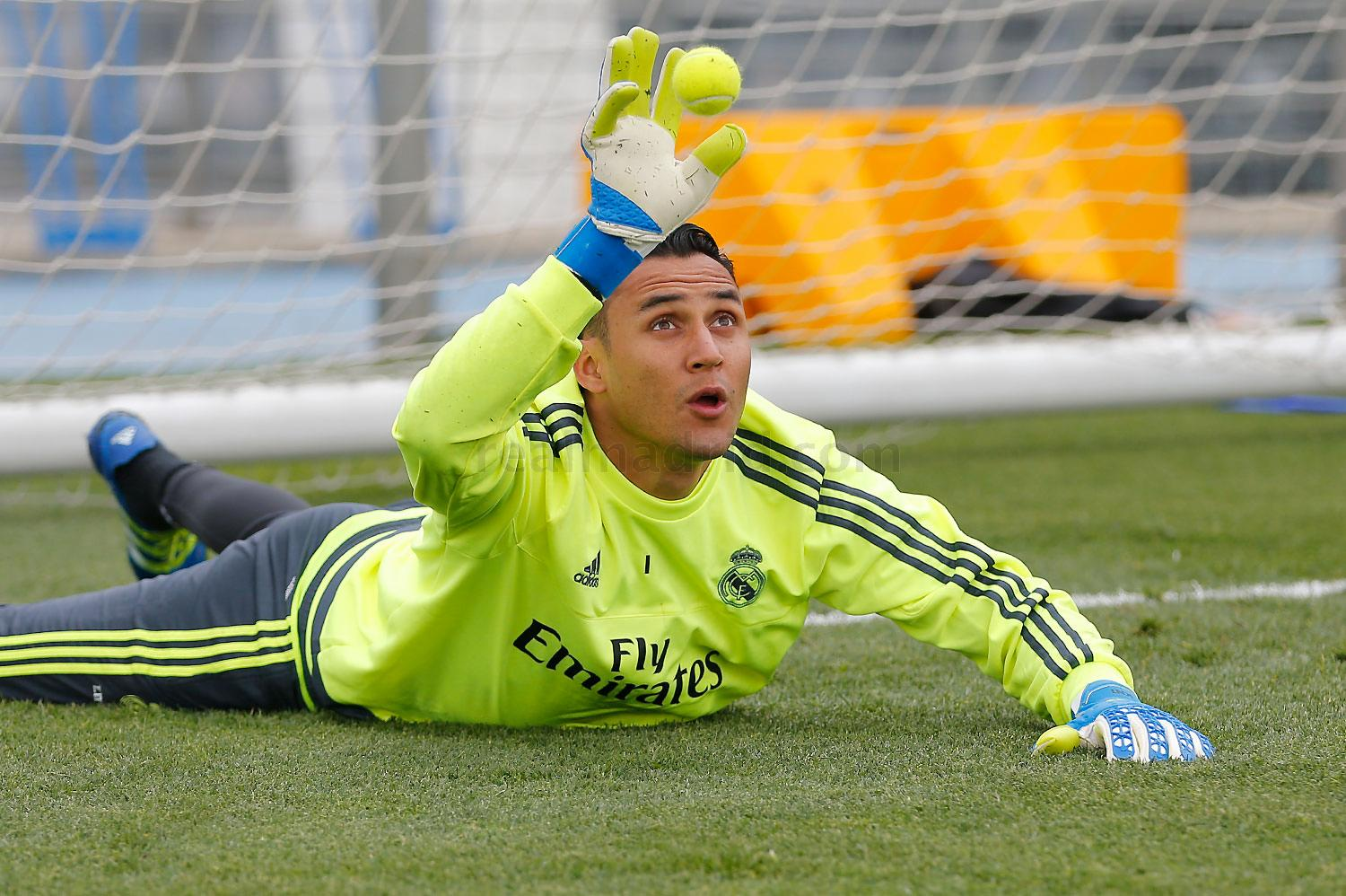 Real Madrid - Entrenamiento del Real Madrid - 14-04-2016