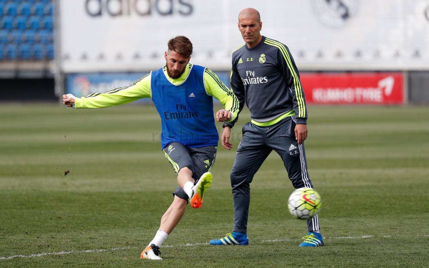 Real Madrid - Entrenamiento del Real Madrid - 15-04-2016