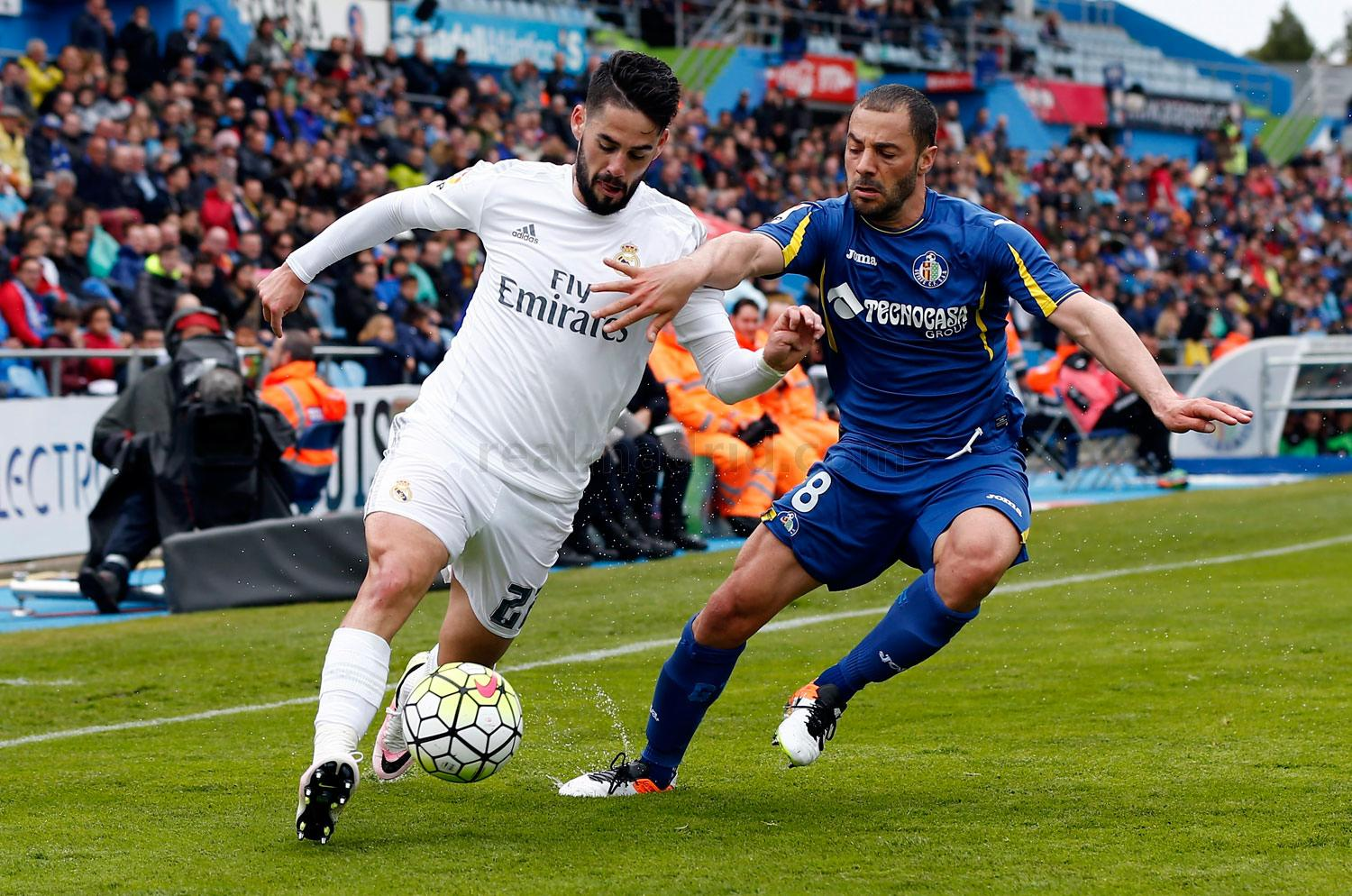 Real Madrid - Getafe - Real Madrid - 18-04-2016