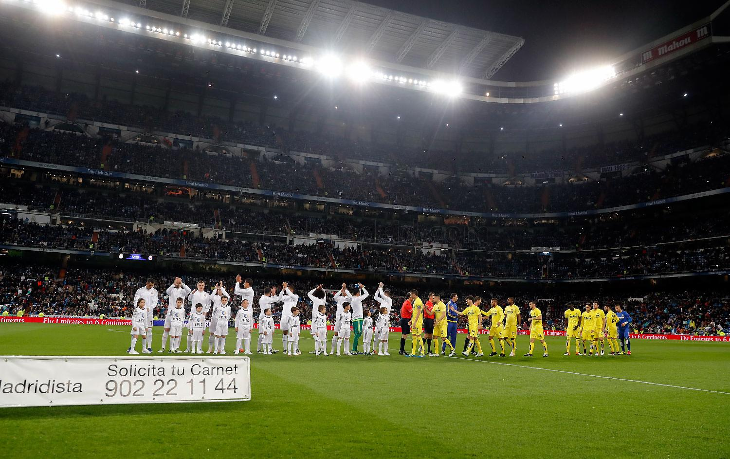 Real Madrid - Real Madrid - Villarreal - 20-04-2016