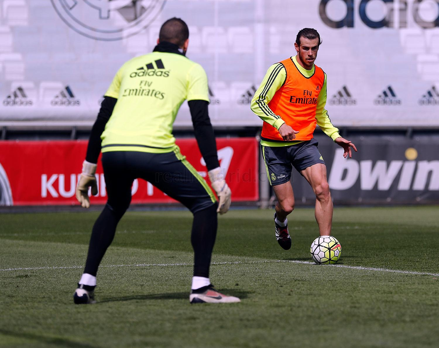 Real Madrid - Entrenamiento del Real Madrid - 21-04-2016