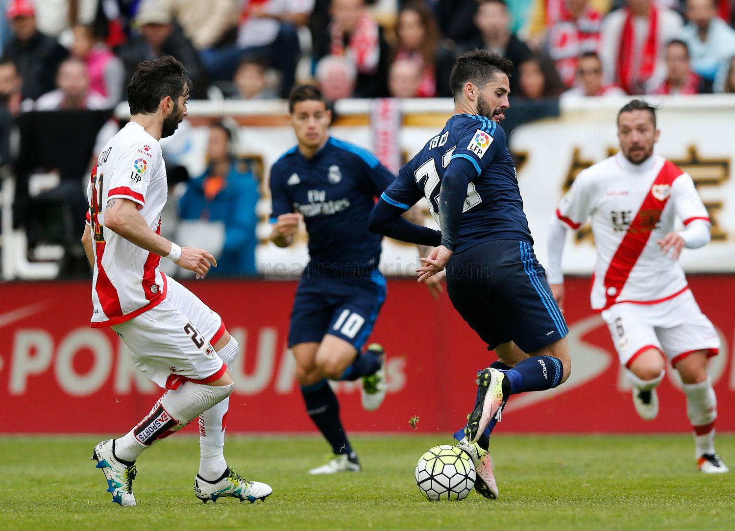 Real Madrid - Rayo Vallecano - Real Madrid - 23-04-2016