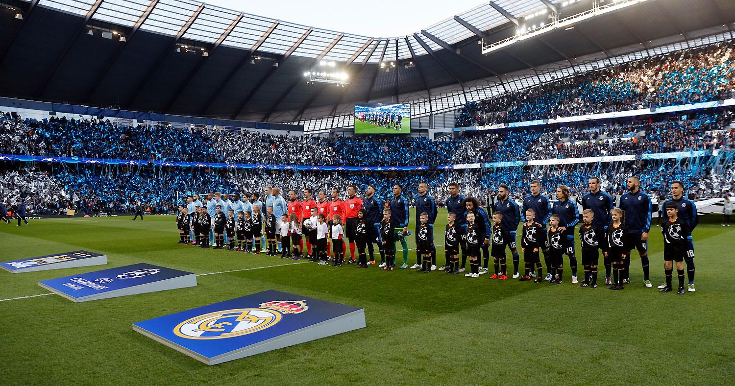 Real Madrid - Manchester City - Real Madrid - 26-04-2016