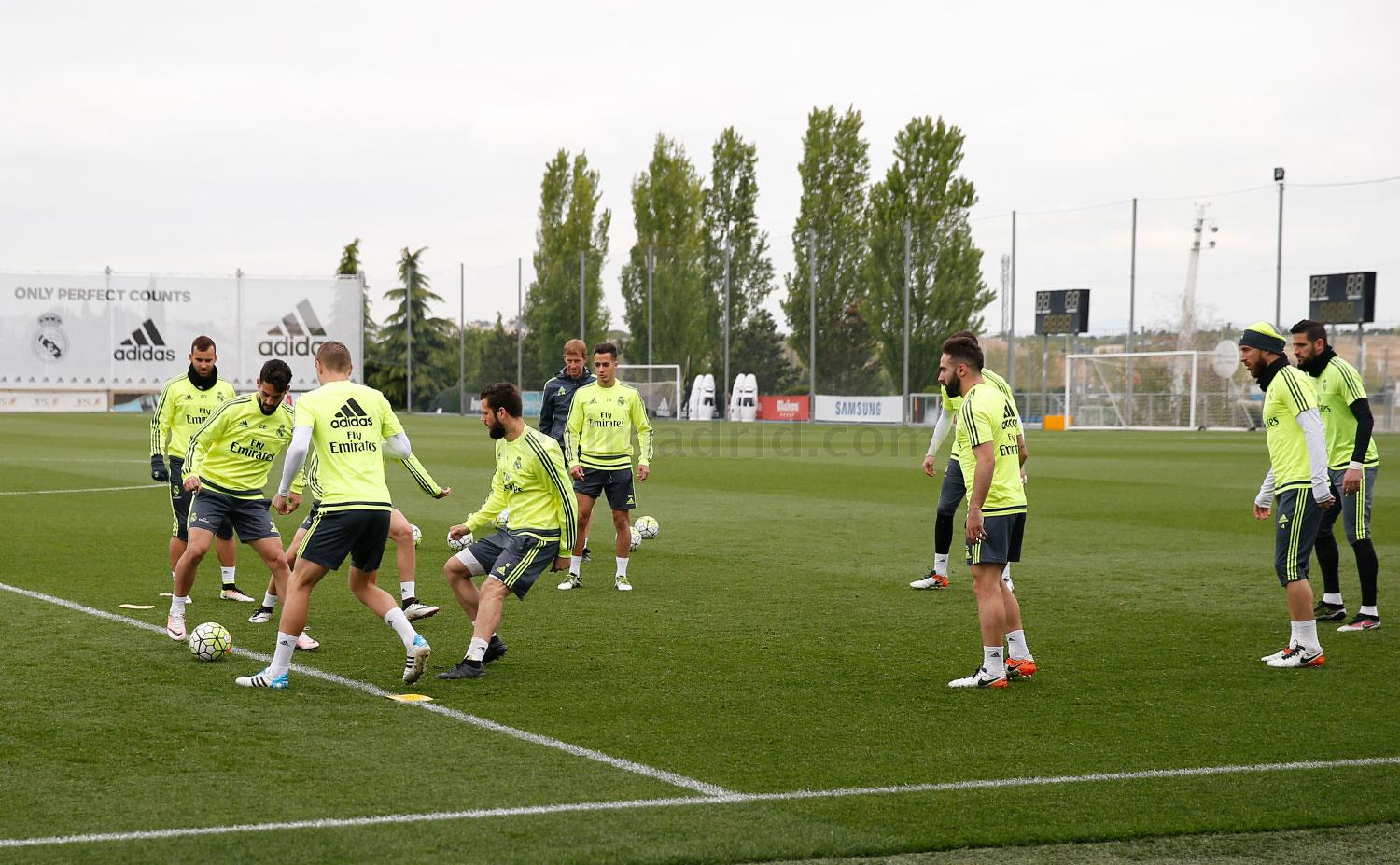 Real Madrid - Entrenamiento del Real Madrid - 29-04-2016