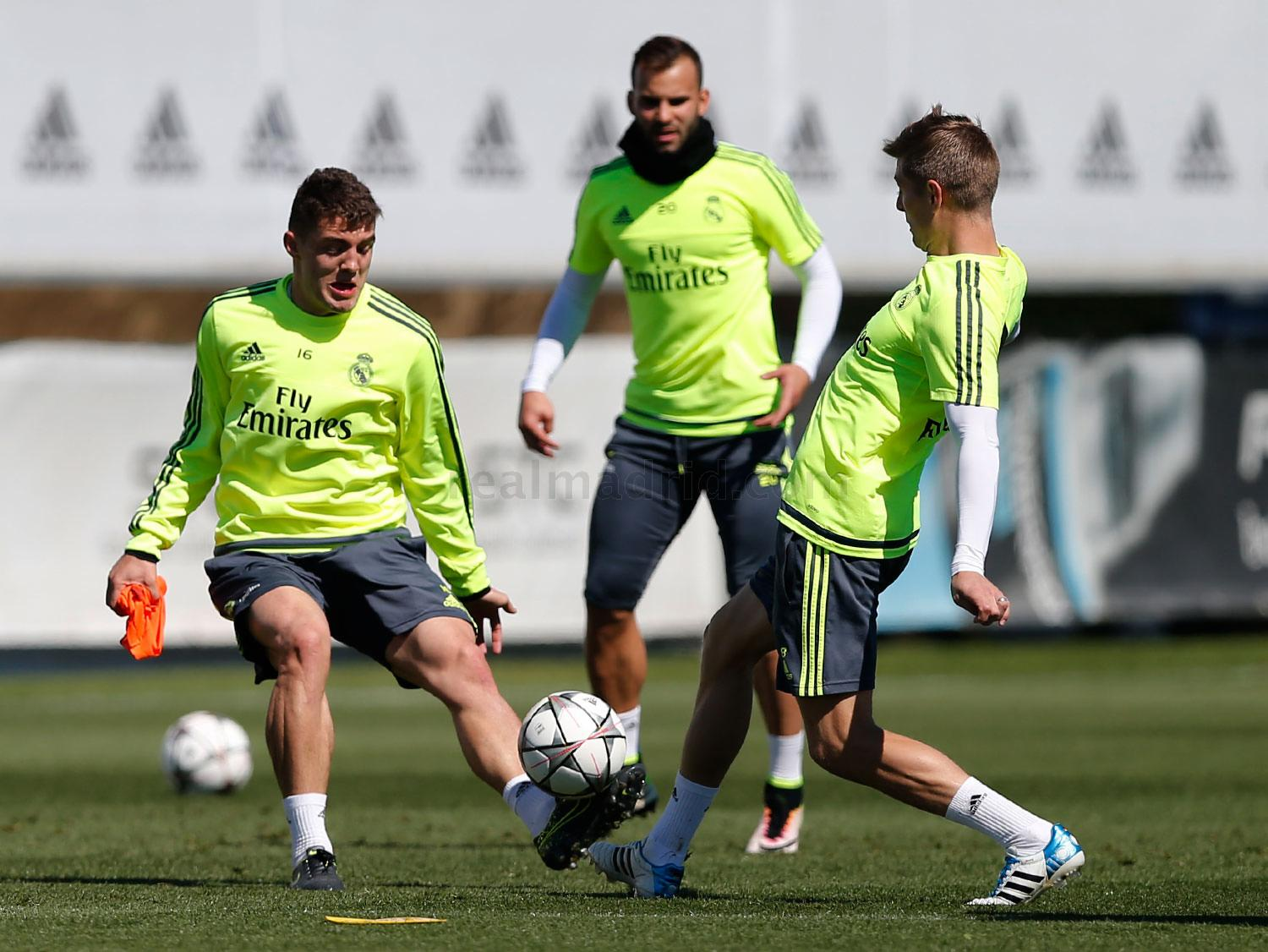 Real Madrid - Entrenamiento del Real Madrid - 01-05-2016