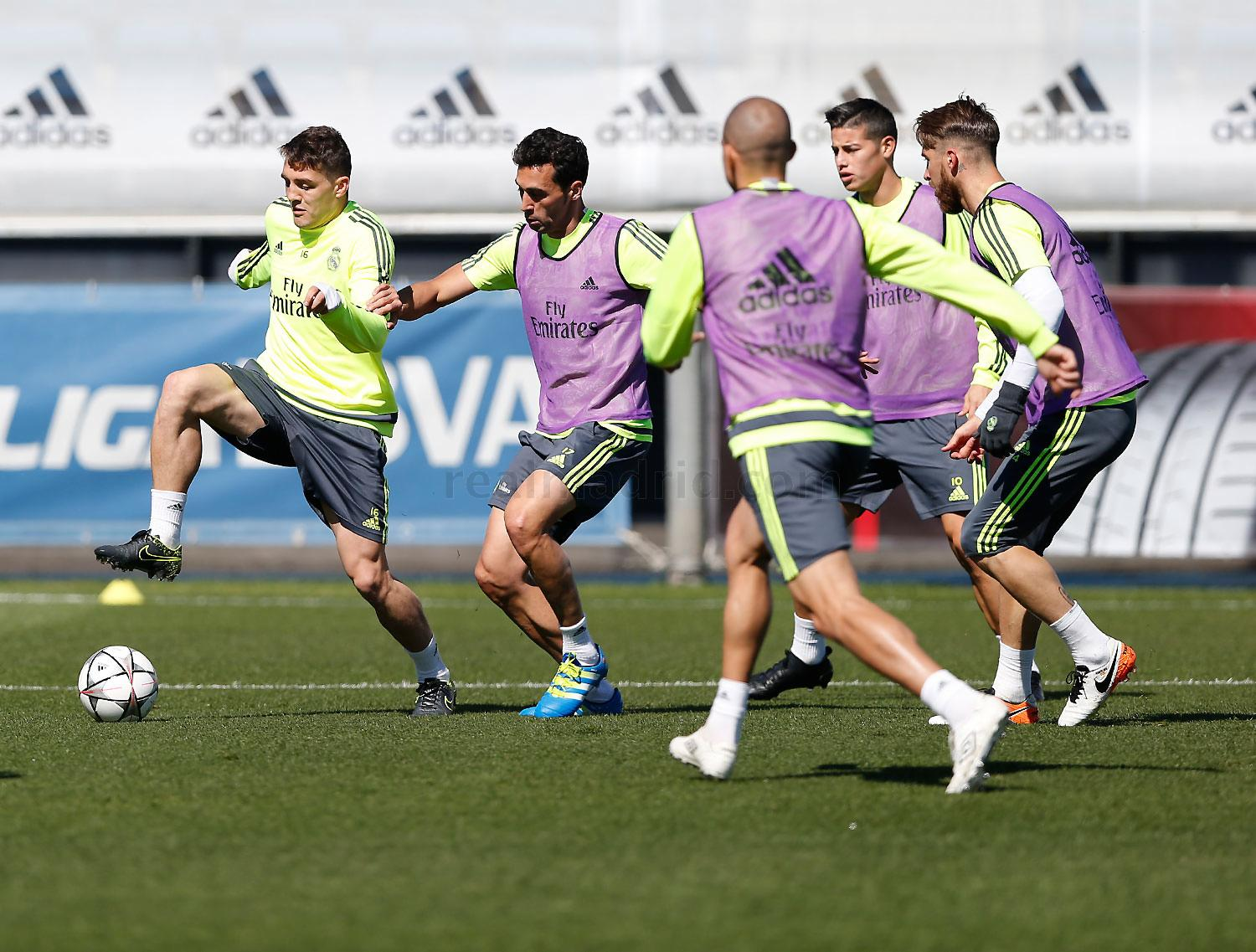 Real Madrid - Entrenamiento del Real Madrid - 02-05-2016