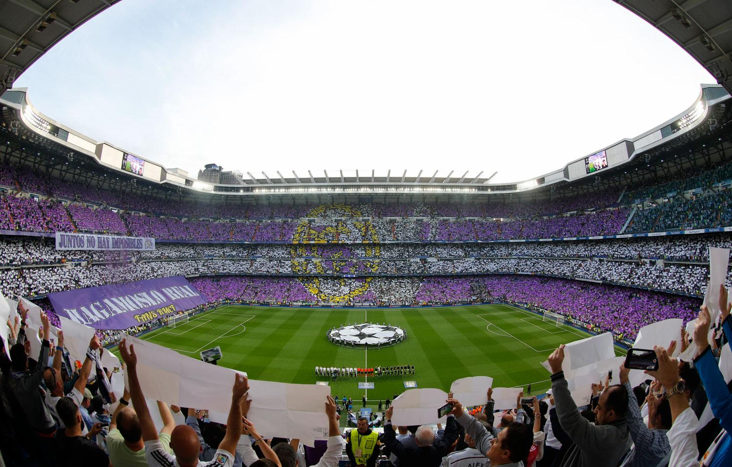 Real Madrid - Real Madrid - Manchester City - 04-05-2016