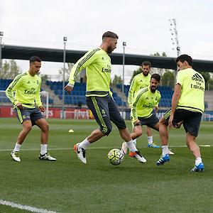Ltimo entrenamiento antes del partido contra el valencia for Ultimo partido del real madrid