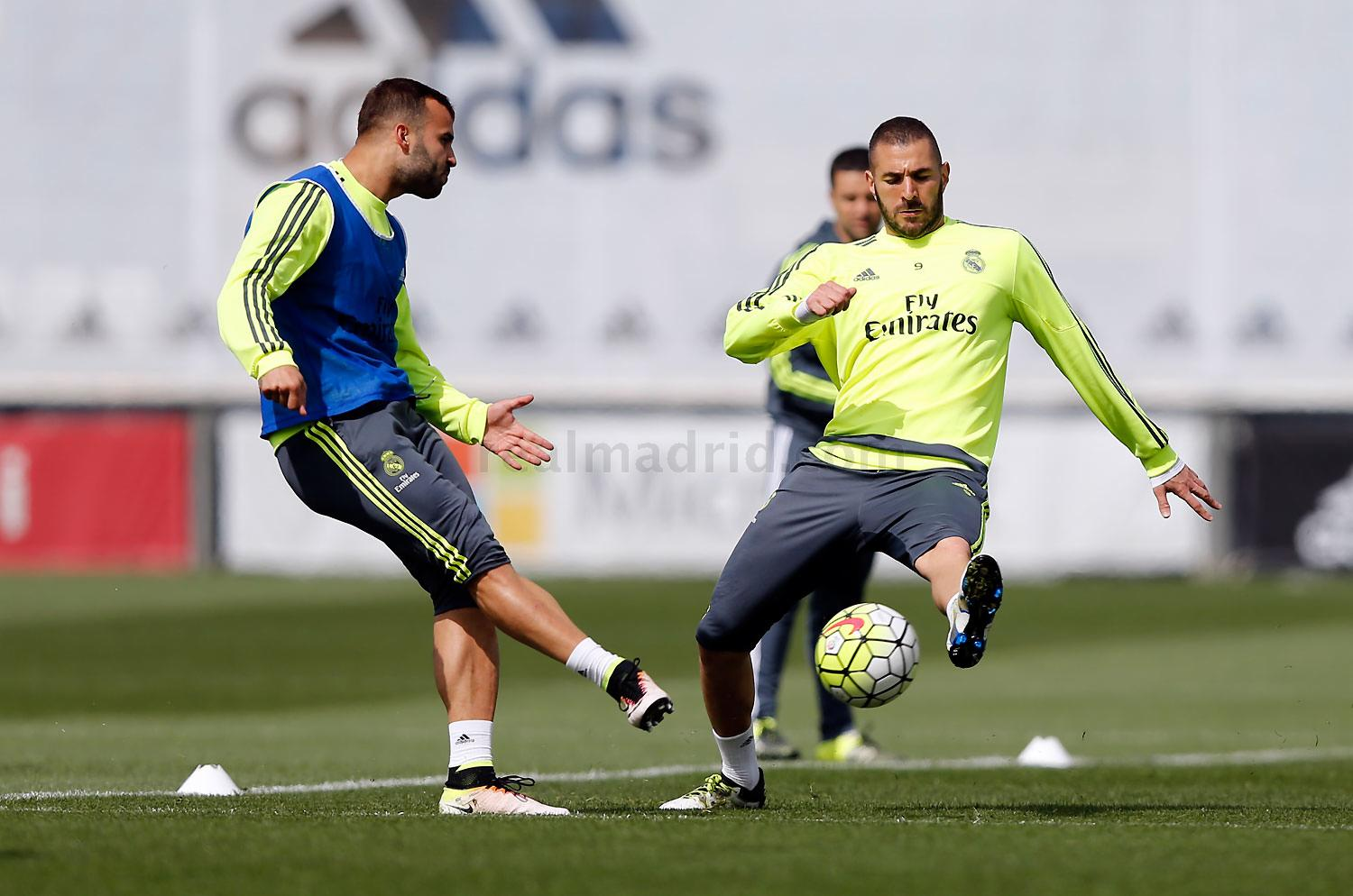 Real Madrid - Entrenamiento del Real Madrid - 07-05-2016
