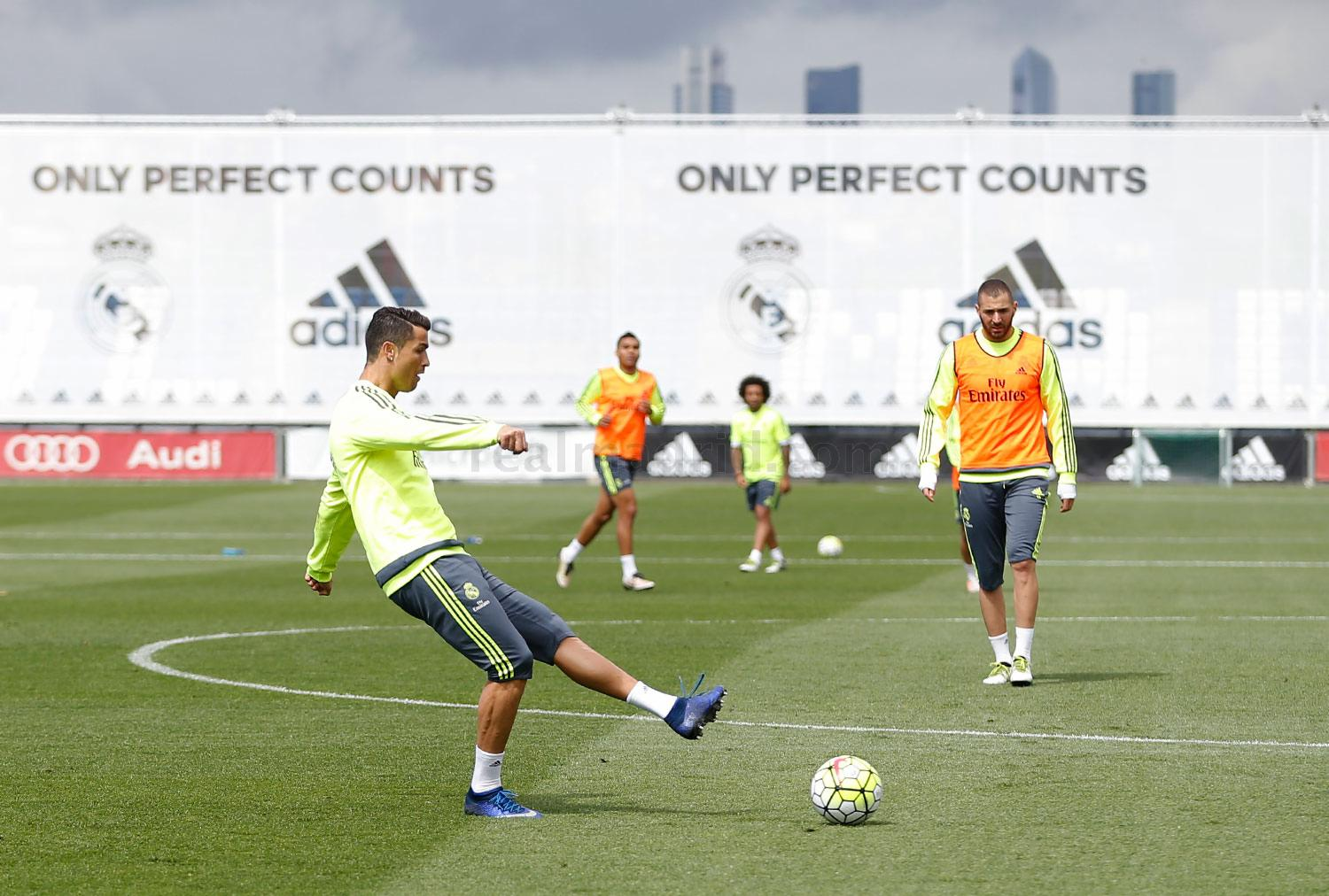 Real Madrid - Entrenamiento del Real Madrid - 11-05-2016
