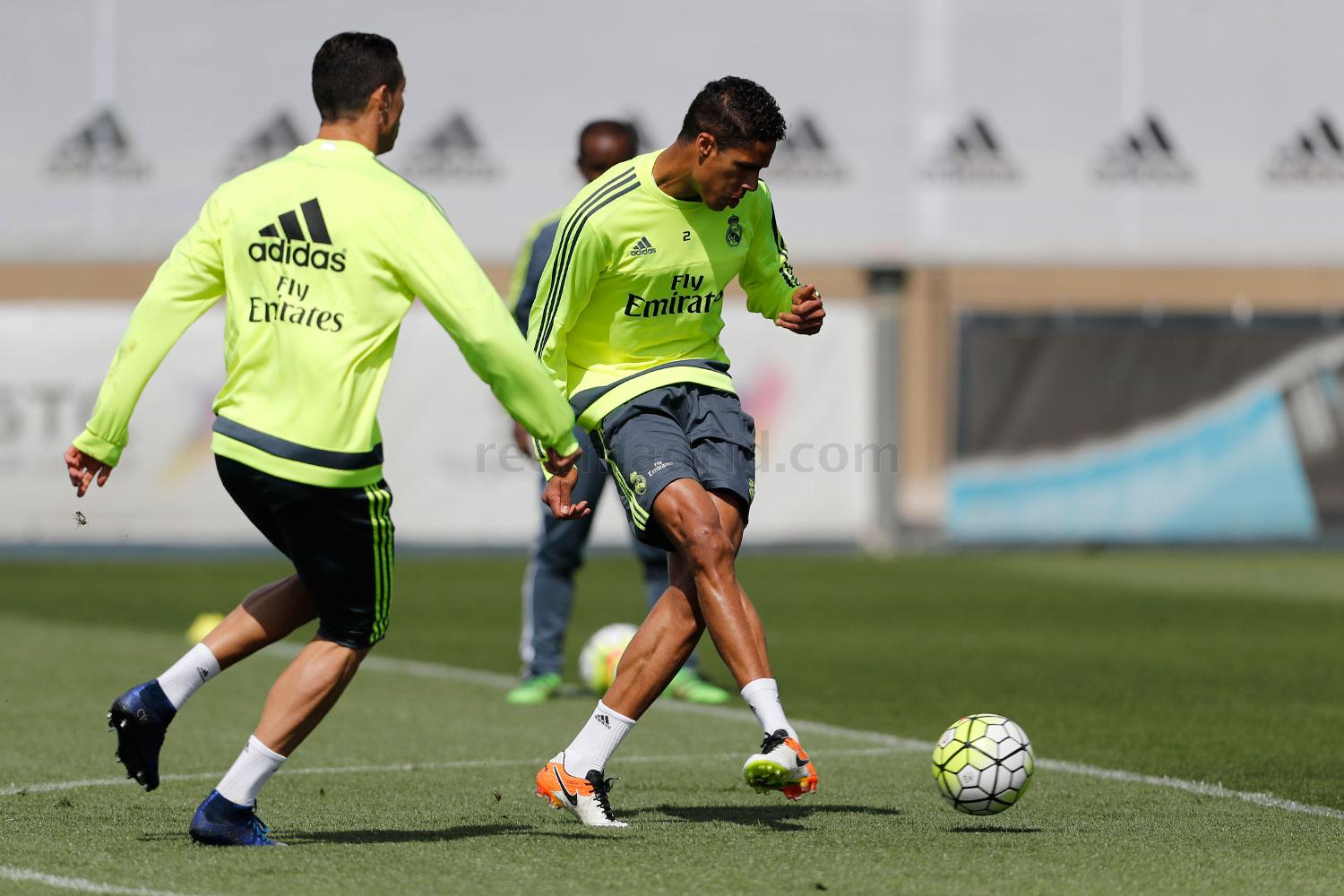 Real Madrid - Entrenamiento del Real Madrid - 12-05-2016